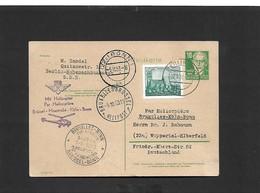 1 Er Liaison Hélipostale Bruxelles Bonn (courrier étrangers) SIKORSKY S-55 OO - SHA - Airmail