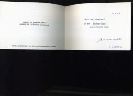 CARTE DE VOEUX  A IDENTIFIER MINISTRE DE LA DEFENSE NATIONALE - Régiments