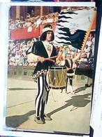 SIENA – IL PALIO – CONTRADA DELLA LUPA – TAMBURINO E ALFIERE VB1973  HN6972 - Siena