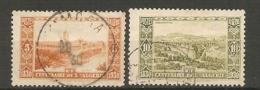 ALG - Yv.  N° 87,88  (o)  5,10c Centenaire De L'Algérie Cote  21  Euro BE2 Scans - Algérie (1924-1962)
