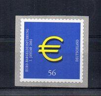 Germania - 2002 - Introduzione Dell'Euro - Nuovo ** - Autoadesivo - (FDC21078) - [7] Repubblica Federale