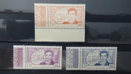 A134 Cote D'Ivoire N° 141a à 143a ** + Feuilles Et 1/2 Feuilles Anciennes Colonies Françaises **. Côte +++ !!! - Briefmarken