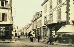 23    Creuse   Chambon Sur Voueize    La Grande Rue   Magasins - Chambon Sur Voueize