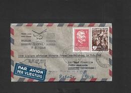 Vol  Bruxelles Duisbourg Du 07/05/1956 SIKORSKY S-55 OO - SHF - Airmail