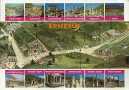 Efes - Türkiye - Voyagée Vers La France En 2004, 2 Timbres - Turquie
