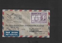 Vol  Bruxelles Dortmund  Du 07/05/1956 SIKORSKY S-55 OO - SHF - Airmail