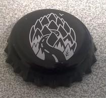 Capsule Bière Beer Crown Cap Noire Houblon Route Oiseau - Bière