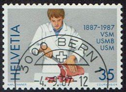 Schweiz 1987, MiNr 1351, Gestempelt - Used Stamps