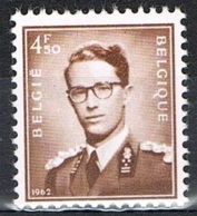 Année 1962 - COB 1068A** - S.M. Le Roi Baudouin Type (924) Avec Millésime 1962 - Cote 1,40€ - Belgique