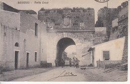 ITALIA - BRINDISI - Leggi Testo, Animata, Viag. In Franchigia - 2020-96 - Brindisi