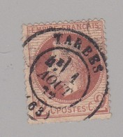 T 17 Tarbes S / N° 26B ( Dept 63 ) Hautes Pyrenées - Marcophily (detached Stamps)