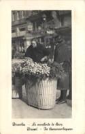 Bruxelles - La Marchande De Fleurs - Old Professions