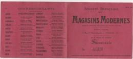 U20- AGEN - LETTRE DE CHANGE - MAGASINS MODERNES -  4 JUILLET 1944 - TIMBRES  FISCAUX - 3 SCANS - France