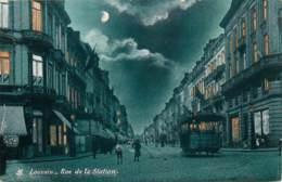 Louvain - Rue De La Station - Tram - Leuven