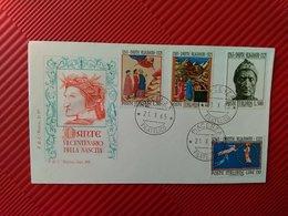 DANTE - VII CENTENARIO - ANNULLO POSTALE - 1961-70: Poststempel