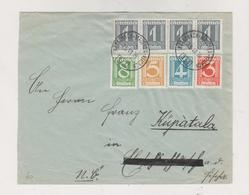 AUSTRIA 1934 AMB TRAIN CANCEL KOTSCHACH-MAUTERN-VILLACH  Nice Cover - Covers & Documents