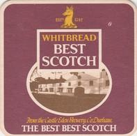 BEERMAT - CASTLE EDEN (WHITBREAD)   (HARTLEPOOL, ENGLAND) - BEST SCOTCH - (Cat No 016) - (1983) - Portavasos