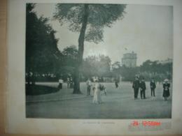 Lamina-Paris-1900--1,Le Donjon De Vicennes--Rue Notre-Dame--Boulevard Bonne-Nouvelle - Ancianas (antes De 1900)
