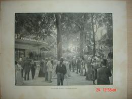Lamina-Paris-1900--1,Plaisirs D'Ete-Le Jardin De Paris----Vue Generale De L'Observatoire - Ancianas (antes De 1900)