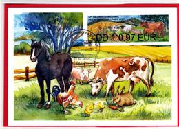 Atm-Lisa / Brother / CM  LV 0.97 €  Obl 22.02.2020 Salon De L'agriculture 2020 - 2010-... Vignette Illustrate