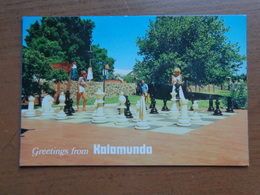 Australia / Greetings From Kalamunda - Unique Chessmen Located In Stirk Park -> Unwritten - Perth