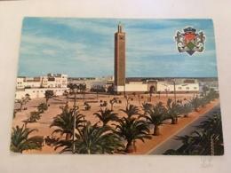 CP Semi Moderne MAROC - A 2292 Armoiries De Mohammedia Et La Nouvelle Médina - Casablanca