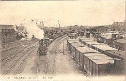 Dépt 45 - ORLÉANS - La Gare - (ND. Phot N° 152) - Train - Orleans