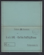 KuK AOK-Chef Des FeldTelgWesens 1917 - 1850-1918 Imperium