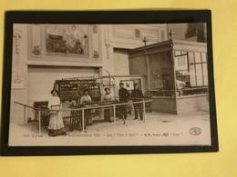 69 LYON EXPOSITION INTERNATIONALE 1914- LES VERS A SOIE  CACHET DE L ' EXPOSITION   AU DOS - Andere
