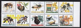 Sweden 1990 / Beekeeping, Bees, Insects / MNH / Mi 1609-1618 - Schweden