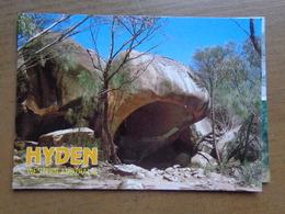 Australia / Hyden, Hippo's Yawn Is One Of The Several Unusual Landforms - Wave Rocks -> Unwritten - Australie