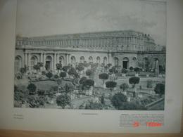 Lamina-Paris-1900--1 L'Orangerie---Le Bassin D'Apollon - Ancianas (antes De 1900)