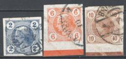 Austria 1901 Giornali Unif.12/I-14/I O/used VF/F - Journaux