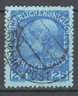 Uffici A Creta 1908 Unif.18/I Carta Opaca / Matte Paper  O/used VF/F - Oostenrijkse Levant