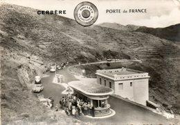 66. CPSM. CERBERE.  Douanes Françaises, Porte De France.  Douane Franco Espagnole. 1959.  Scan Du Verso. - Aduana