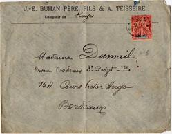 27 07 1908 Kayes Au Haut Niger - Haut-Sénégal Et Niger (1904-1921)