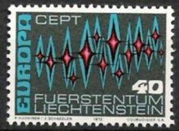 Timbres EUROPA CEPT LIECHTENSTEIN De 1972 N° Y&t  507 Neuf(s) ** MNH Luxe - Europa-CEPT