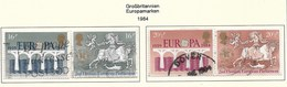 Großbritannien  1984  Mi.Nr. 988+990 , EUROPA CEPT Brücken 25 Jahre Europäische Konferenz - Gestempelt / Fine Used / (o) - Europa-CEPT