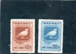 CHINE 1950 SANS GOMME - 1949 - ... People's Republic