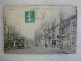 TRAMWAY - CHATILLON - Rue De Paris (animée) - Tramways