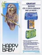 Marque-page - Happy Baby - Pack Cadeau Maternité - Chouette Avec Lunettes - Owl Wearing Glasses - Marque-Pages