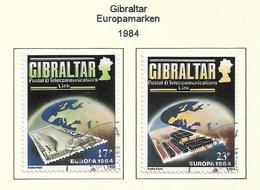 Gibralta  1984  Mi.Nr. 475 / 476 , EUROPA CEPT Brücken 25 Jahre Europäische Konferenz - Gestempelt / Fine Used / (o) - Europa-CEPT