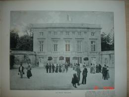 Lamina-Paris-1900--1 Le Petit Trianon---Chanbres - Ancianas (antes De 1900)