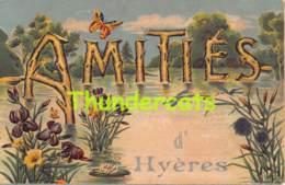 CPA 83 HYERES  AMITIES D'HYERES ARTAUD NOZAIS NANTES ART NOUVEAU - Hyeres