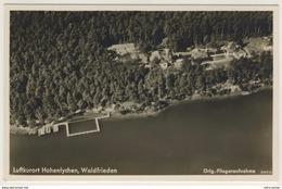AK  Hohenlychen Waldfrieden  Fliegeraufnahme Luftaufnahme Kleinformat Ansichtskarte - Deutschland