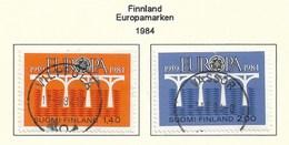 Suomi Finland  1984  Mi.Nr. 944 /945 , EUROPA CEPT Brücken 25 Jahre Europäische Konferenz - Gestempelt / Fine Used / (o) - Europa-CEPT