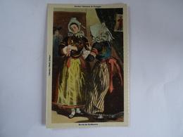CPA Anciens Costumes De Bretagne Marié De De Kerfauntun TBE - Quimper