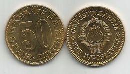 Yugoslavia 50 Para 1978.  KM#46 High Grade - Yugoslavia
