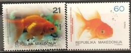 Macedonia, 2014, Mi: 687/88 (MNH) - Poissons