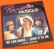 Vinyle 45 Tours  Paroles Et Musique  We Can Dance  (1984)  Wea 2491557 - Música De Peliculas